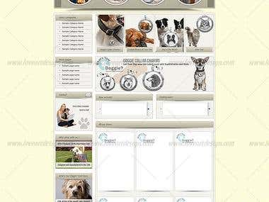Whats Your Doggies - eBay store design and listing template