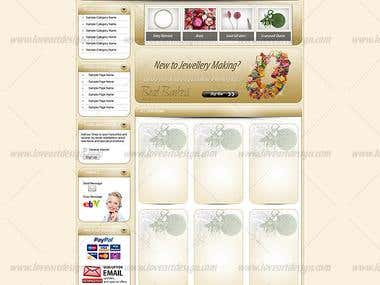 Bead Bonkers - eBay store design and listing template