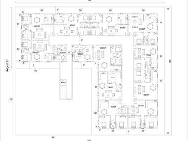 2 D Floorplans