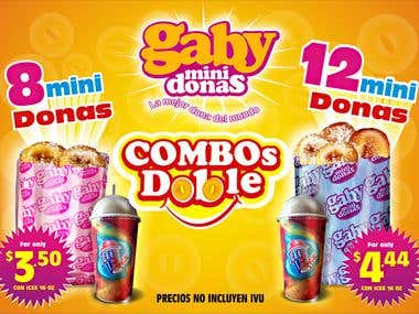 Gaby Donas Ad design