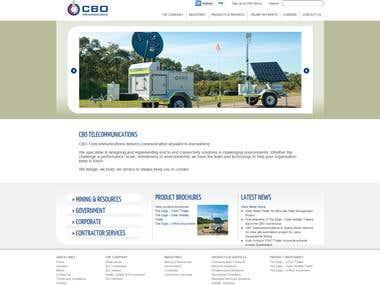Corporate website.