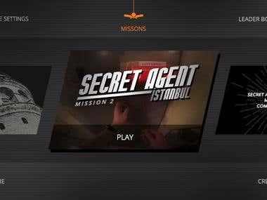 Secret Agent Hostage Video Based Puzzle § Adventure Game