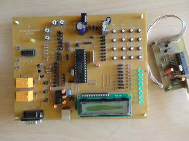 PIC development Board developed by BOTZ R&D Team