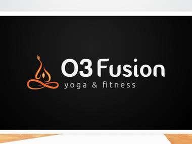Logo concept for a Yoga & Fitness Center