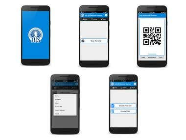 IUS QR/Barcode Scanner