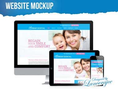 Website & App Mockup