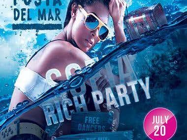 Posta Del Mar [Flyer / Event Management]