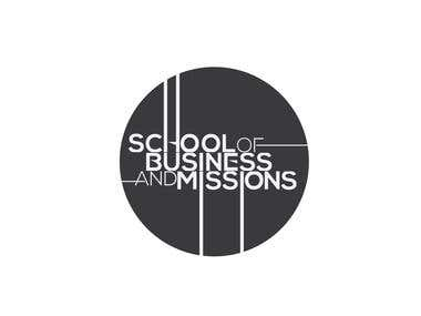 school of business and missions logo