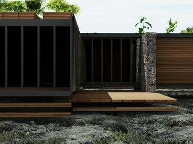 ECO-ntainer home project