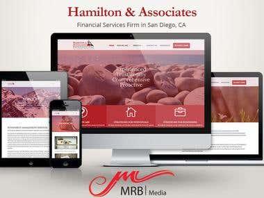Financial Services Website