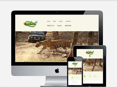 Responsive Travel site