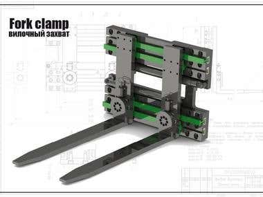 Fork clamp