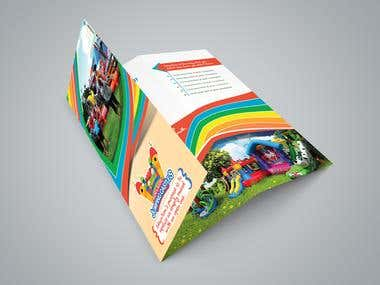 Tri Fold Brochures for Kids sports