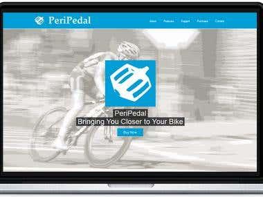PeriPedal Web Page