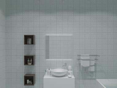 visualisation of bathroom