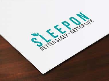 Sleep On Logo and Name Card Design