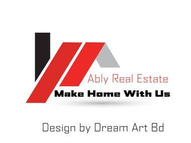 A Logo For Real Estate Company