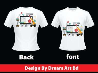 makeing A New T- Shirts Design