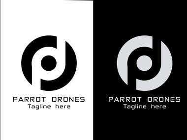 'Parrot Drones' Logo