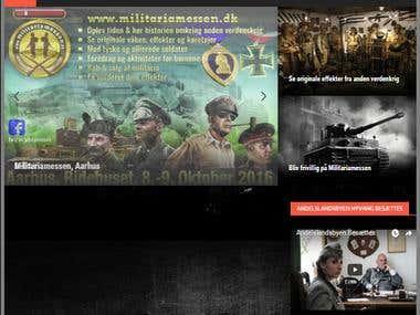 Militaria website