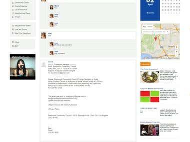 Myneighborhood - Community Web Portal