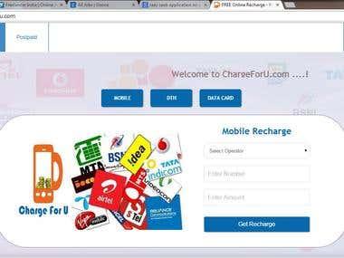 Recharge Website