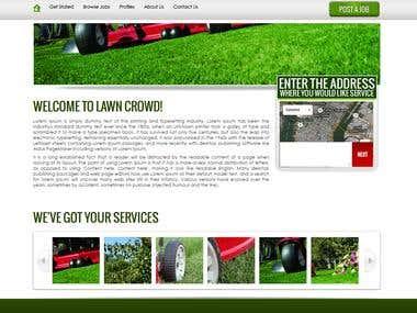 Lawn crawn