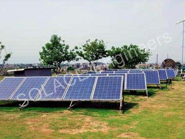 Solar Energy System at COMSATS, Isl