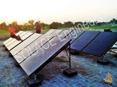 Solar Power System at Al-Daim Medical Complex, Guj