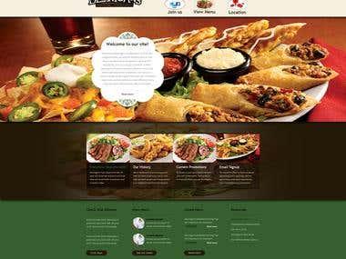 Bennigans Food Project