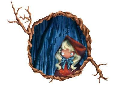 Little Red Riding Hood Illustrations