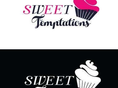 logo design for sweet shop