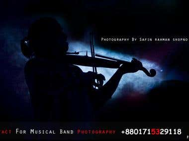 take some Music aritst Photo