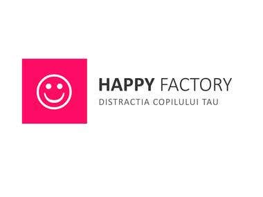 Logo for Happy Factory