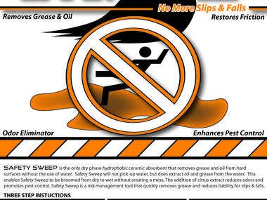 Product Label - Safety Sweep