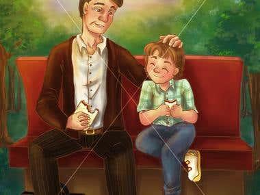 Various illustrations for children