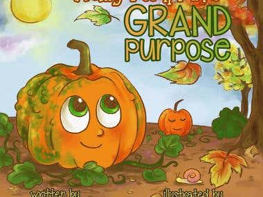 Pages from Wally Pumpkin's Grand Purpose