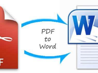 PDF to Word