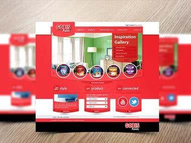 PSD & Web Design