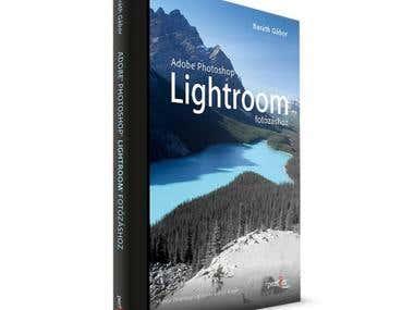 Book cover design and prepress