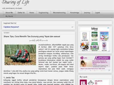 Artikel tentang Traveling,  Hiking dan Mountaineering