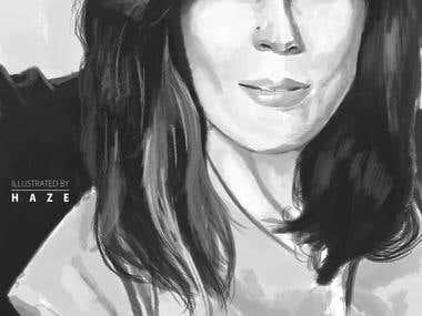 1 hr Portrait Sketches