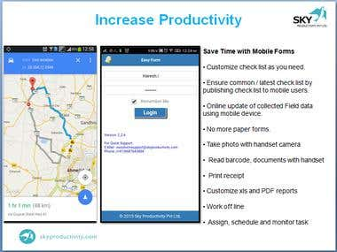 EasyForm - Manage your field service App