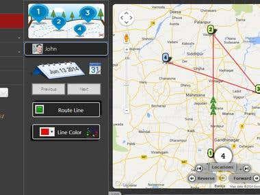 GPS location tracker - Android App