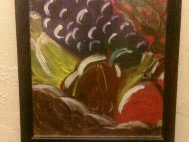 Impressionist Fruit Bunch