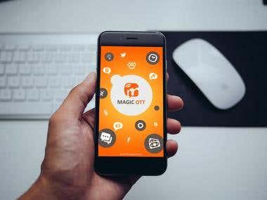 Mobile application MagicOTT