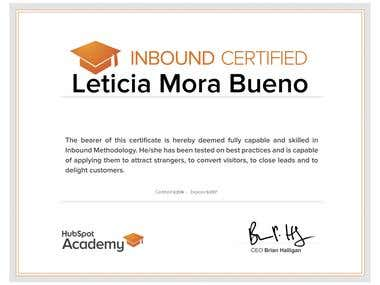 Certificación Inbound marketingg