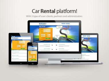 Rental car platform