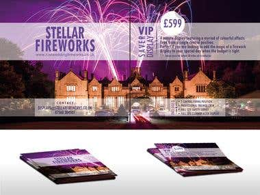Flyer for fireworks...