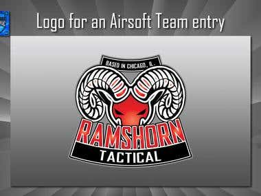 Logo for an Airsoft Team contest entry